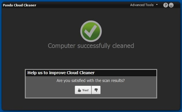 Panda Cloud Cleaner - Software to detect and remove viruses