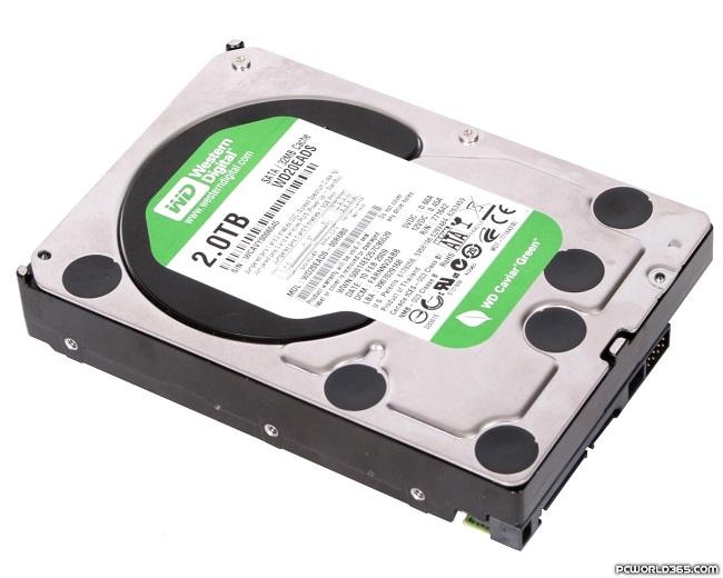 HDD Wester digital 2tb