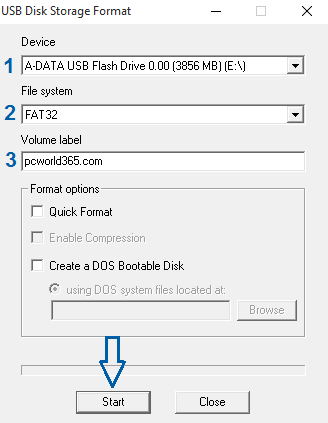 Create a bootable USB with image