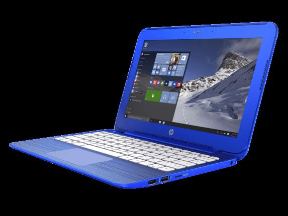 HP Stream 11-r010nr 11.6-Inch Notebook (Intel Celeron Processor, 2GB RAM, 32 GB Hard Drive, Windows 10 Home 64- Bit)