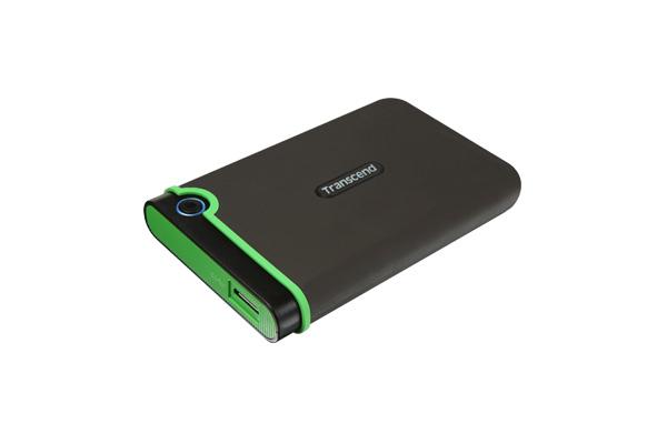Transcend Military Drop Tested 1 TB USB 3.0 M3 External Hard Drive