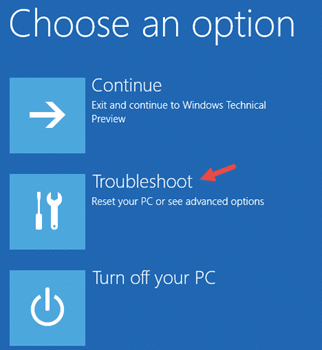 troubleshoot windows 10 startup