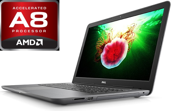 Dell Inspiron 17 5000 17.3-Inch HD+ Laptop Computer, AMD