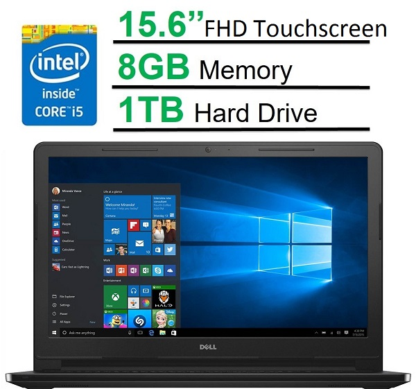 "Dell Inspiron 15.6"" FHD Touchscreen"