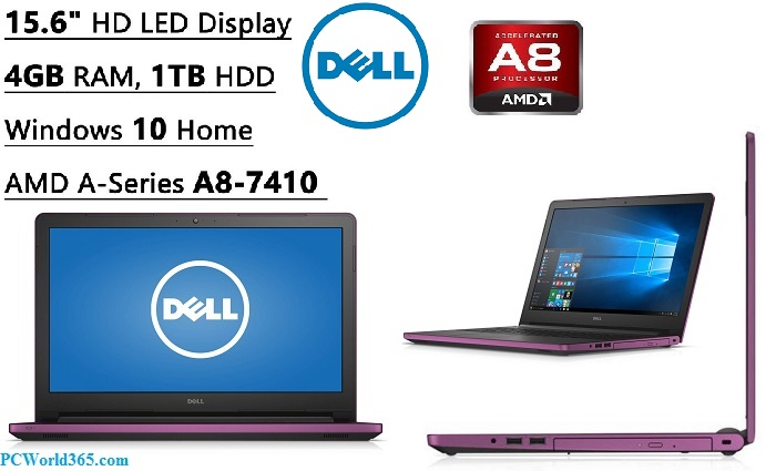 "Dell Inspiron 15 Pro Flagship 15.6"" HD"