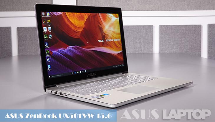 """ASUS ZenBook UX501VW 15.6"""" - Intel Core i7-6700HQ"""