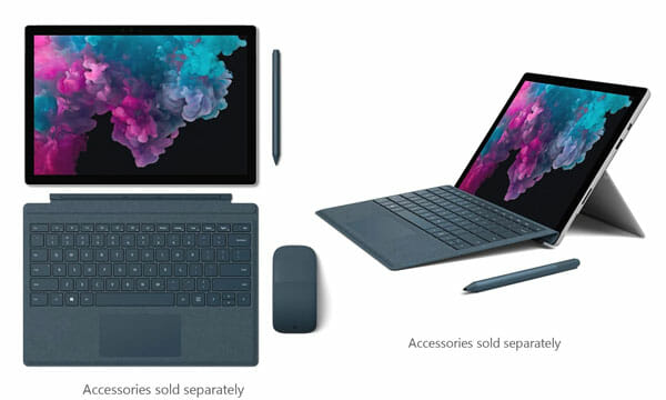 Microsoft Surface Pro 6 as a tablet