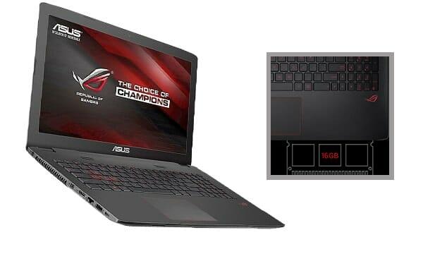ASUS ROG GL752VW-DH74 17-Inch Gaming Laptop