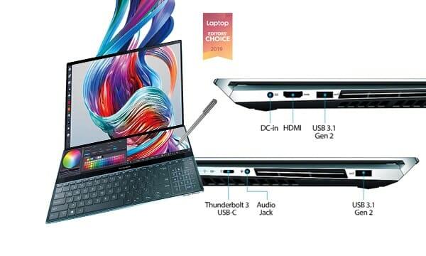 """Asus ZenBook Pro Duo UX581 15.6"""""""