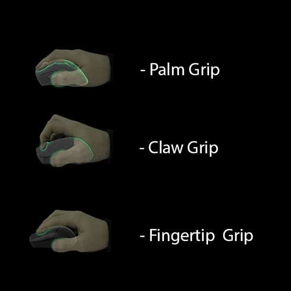 The grip style